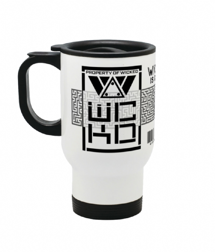 Stainless Steel Travel Coffee Mug Property of WCKD from Maze Runner Death Cure